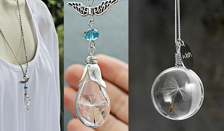 dandelion necklace @TheRoyaleIndia