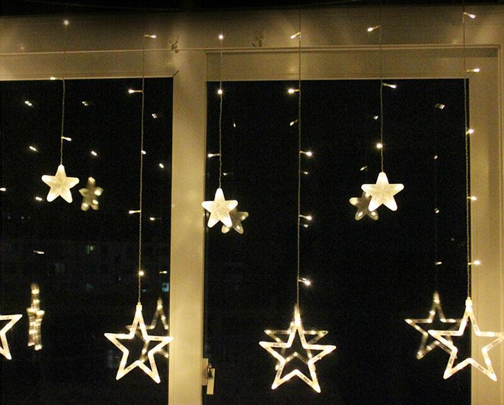 decorate windows lights @TheRoyaleIndia