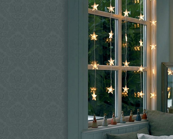decorative lights for windows @TheRoyaleIndia
