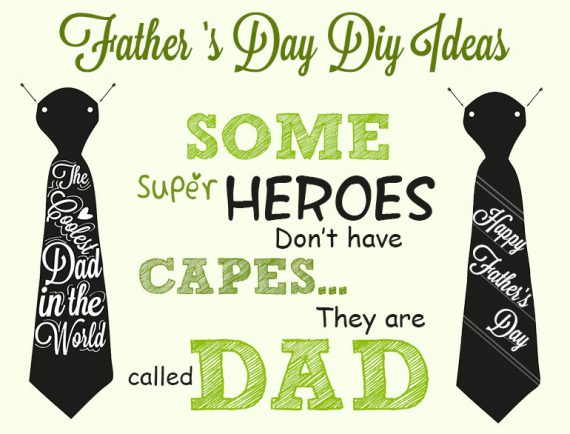 Fathers Day DIY Ideas @TheRoyaleIndia
