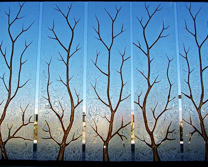 frosted glass for rooms @TheRoyaleIndia