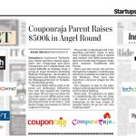 Couponraja and CompareRaja Funding receives extensive media coverage