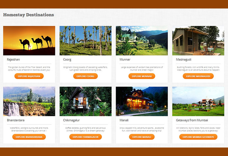 Homestay Destinations India @TheRoyaleIndia