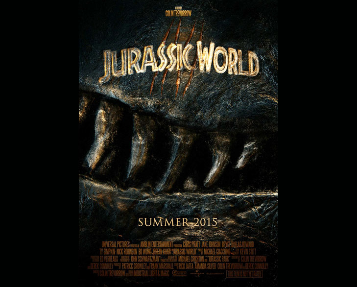 jurassic world 2015 @TheRoyaleIndia