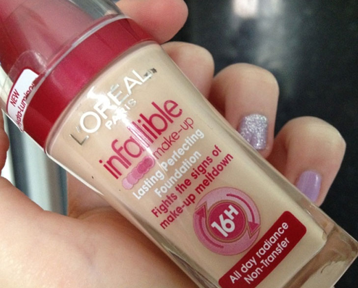 loreal paris infallible lasting perfecting foundation @TheRoyaleIndia