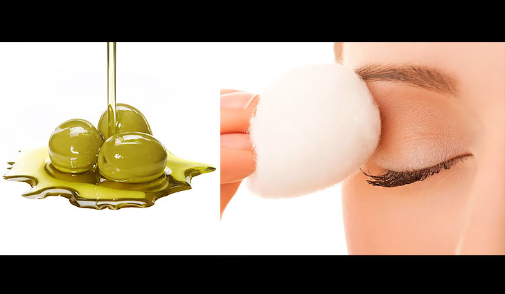 olive oil eye make-up remover @TheRoyaleIndia