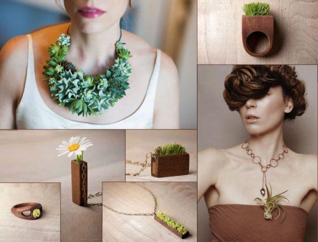 plant jewellery fashion @TheRoyaleIndia
