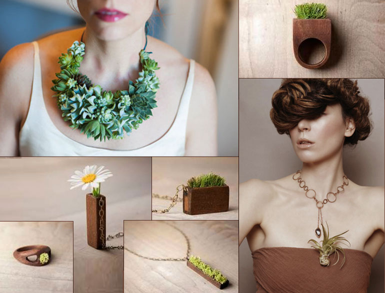 plant jewellery fashion @TheRoyaleIndia