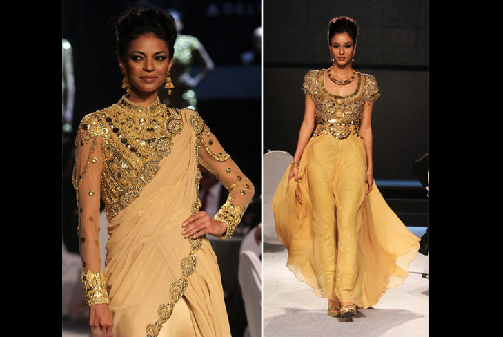 abu jani and sandeep khosla bridal collection @TheRoyaleIndia