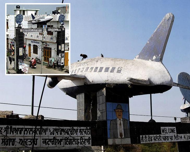 aeroplane gurudwara jalandhar @TheRoyaleIndia