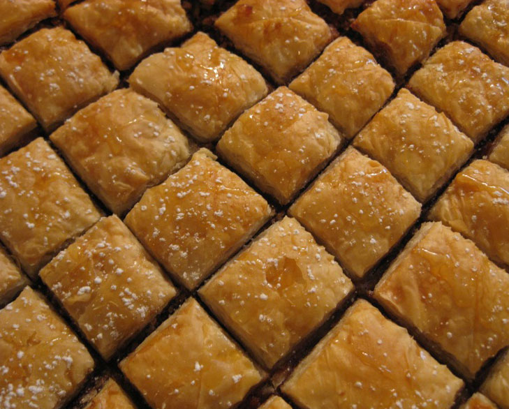 baklava recipe step by step @TheRoyaleIndia