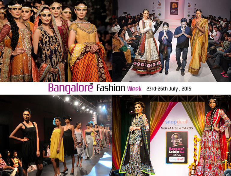 Glam it with a saree the royale Bangalore fashion style week