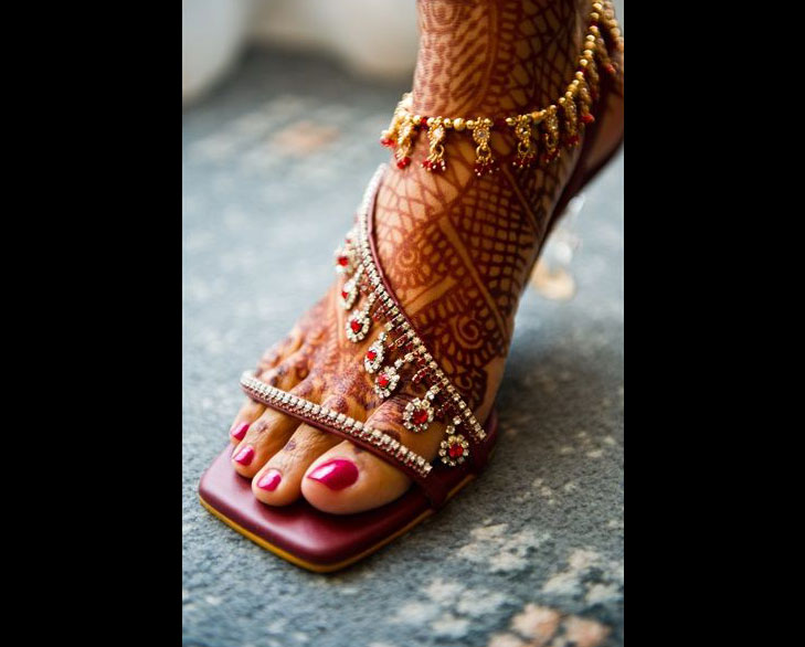 bridal footwear @TheRoyaleIndia