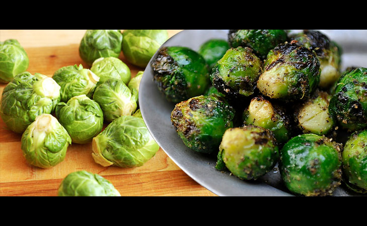 brussle sprouts healthy snacks @TheRoyaleIndia