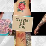 Now Don't Get Tattooed , Get Stitched!!!