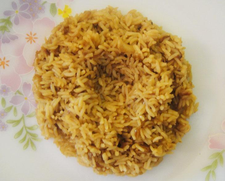 dhansak brown rice @TheRoyaleIndia