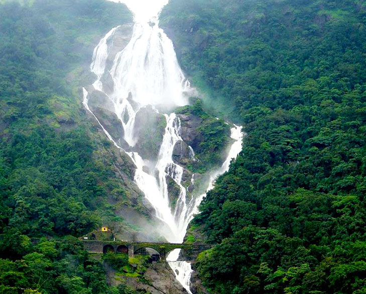 dudhsagar waterfall @TheRoyaleIndia