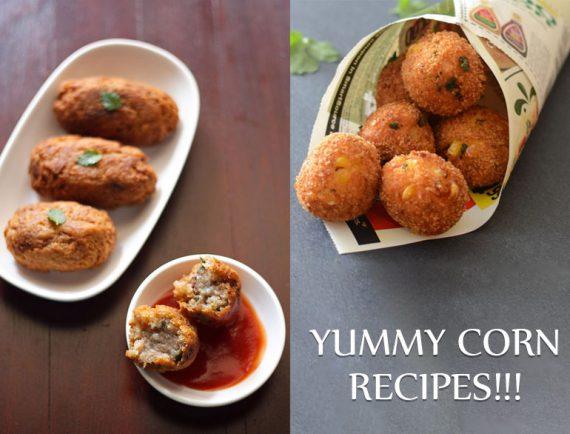 Easy Corn Recipes @TheRoyaleIndia