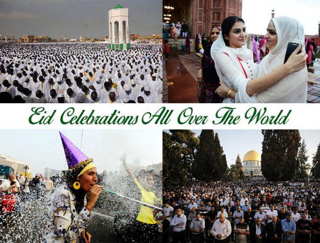 eid celebrations around the world @TheRoyaleIndia