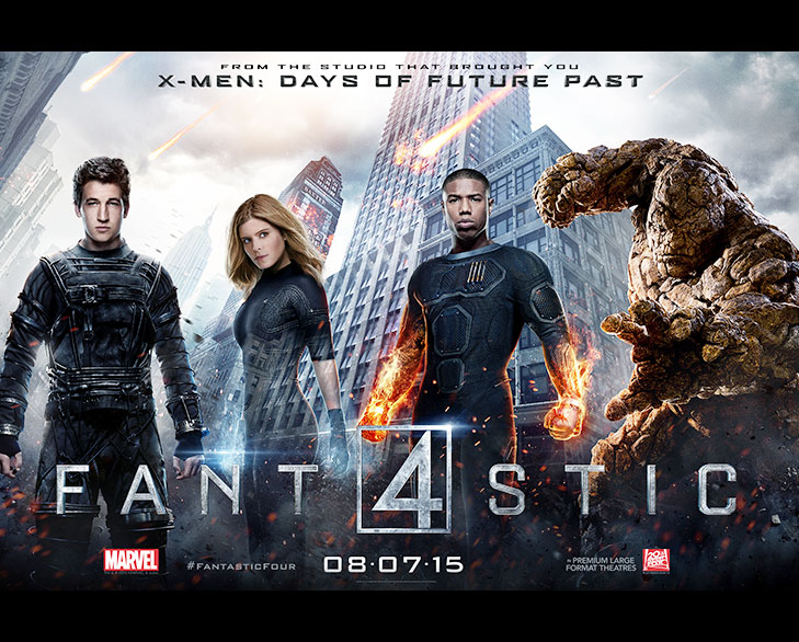 fantastic four 2015 @TheRoyaleIndia