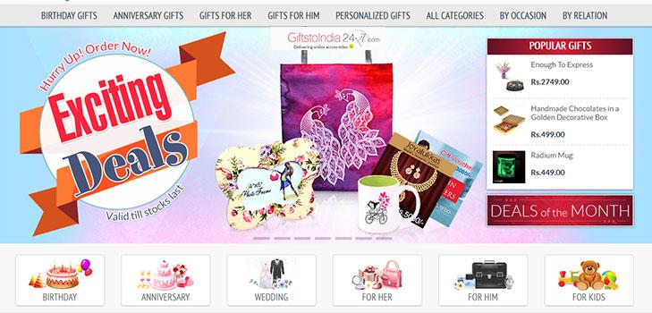 giftstoindia24x7 gifts @TheRoyaleIndia