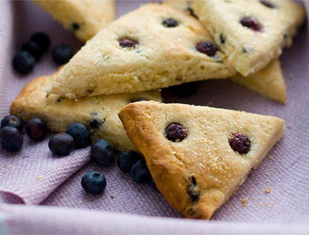 blueberry scones recipe @TheRoyaleIndia
