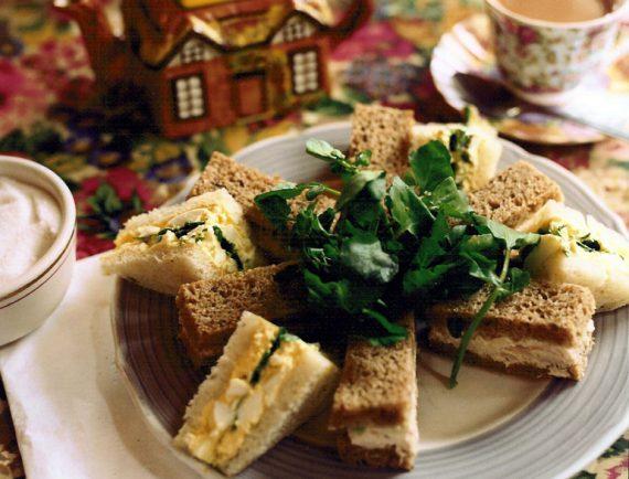 high tea sandwiches @TheRoyaleIndia