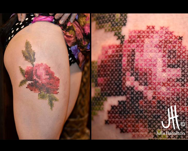 julie hamilton tattoo @TheRoyaleIndia