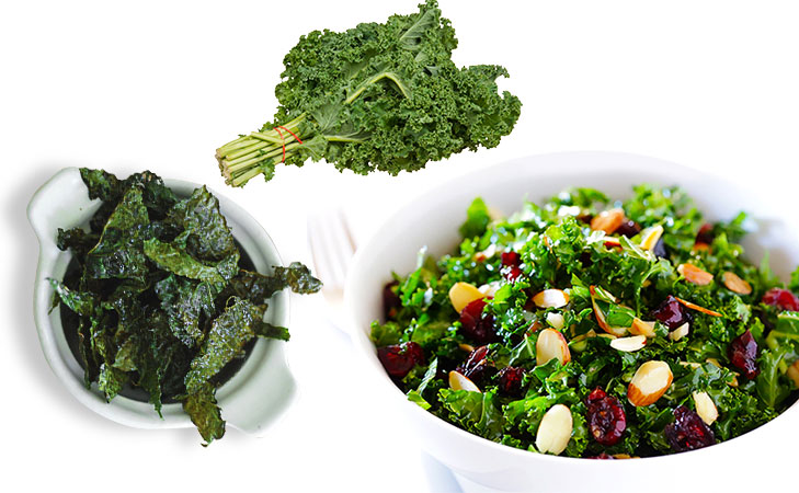 kale low calorie salad chips @TheRoyaleIndia