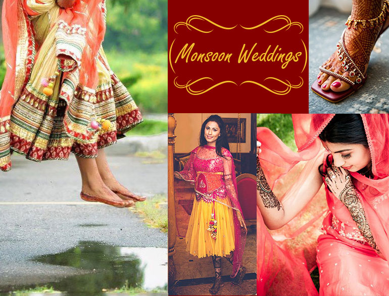 Monsoon Wedding Fashion @TheRoyaleIndia