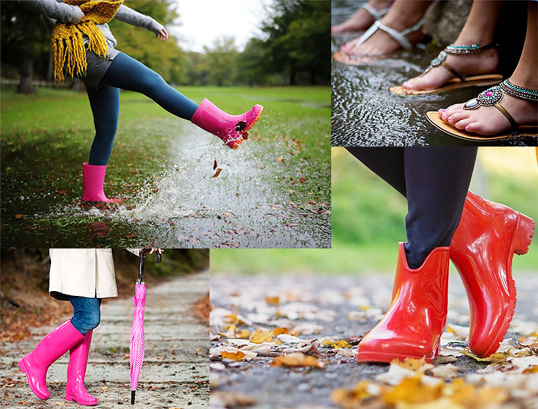 Shoes To Wear In Monsoon @TheRoyaleIndia