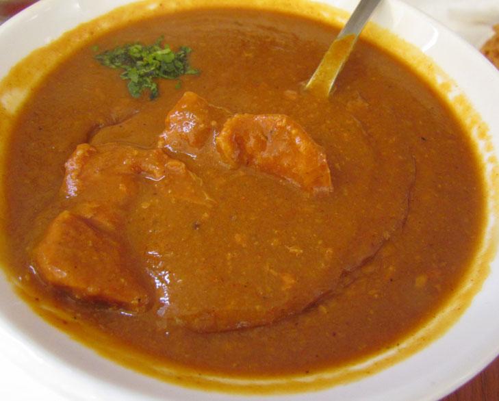 mutton dhansak @TheRoyaleIndia