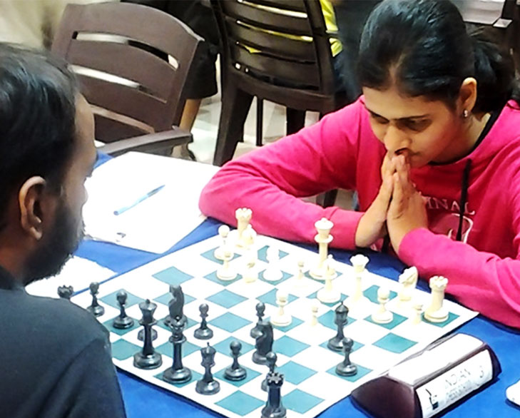 parnali dharia chess player @TheRoyaleIndia