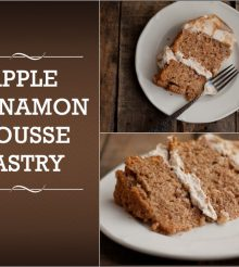 Prepare The Delicious and Spicy Apple Cinnamon Mousse Pastry in 9 Simple Steps