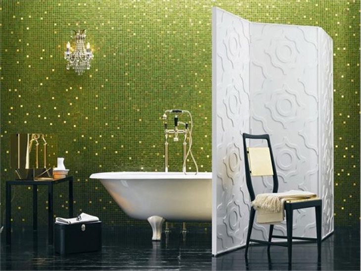 Bathroom Wallpapers @TheRoyaleIndia