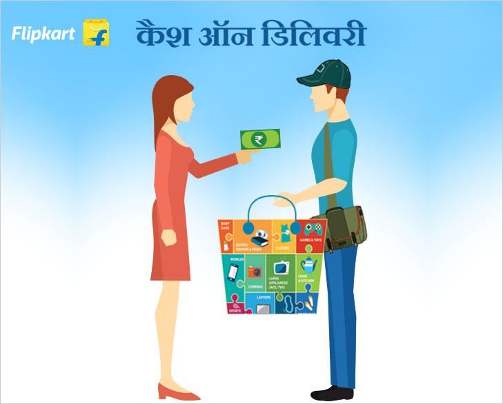 cash on delivery on flipkart @TheRoyaleIndia