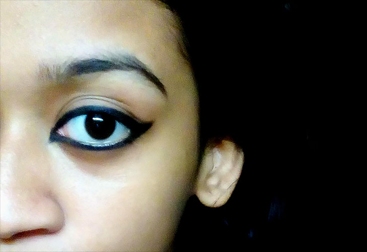 cat eye look @TheRoyaleIndia