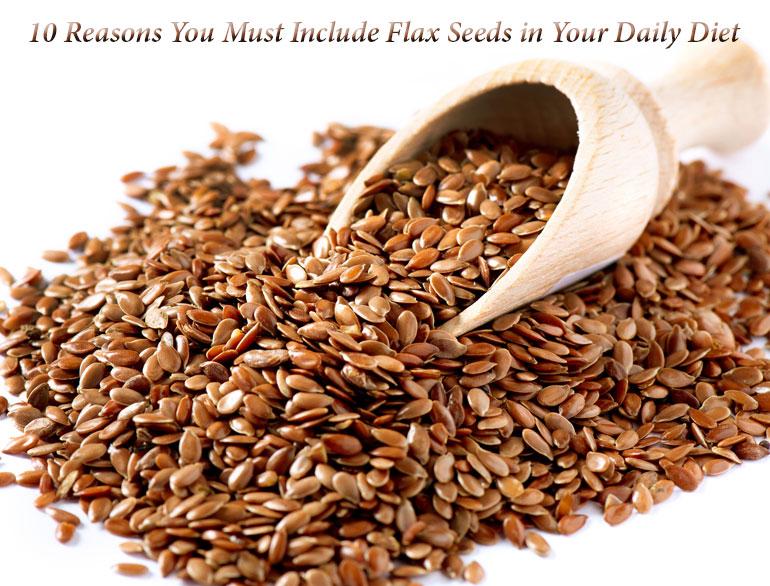 flax seeds benefits @TheRoyaleIndia