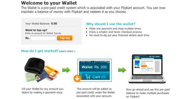 flipkart wallet @TheRoyaleIndia
