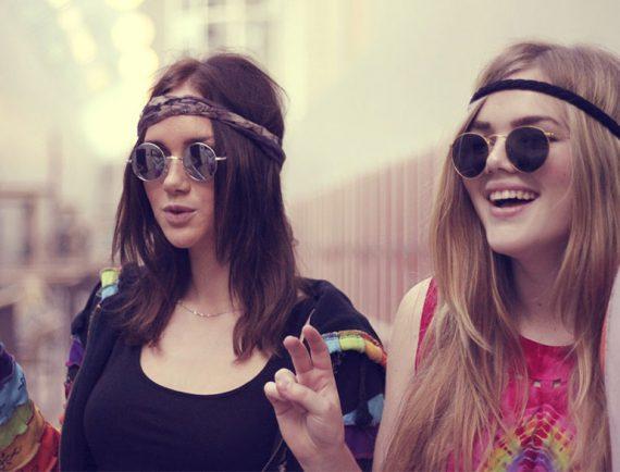 hippie girls @TheRoyaleIndia