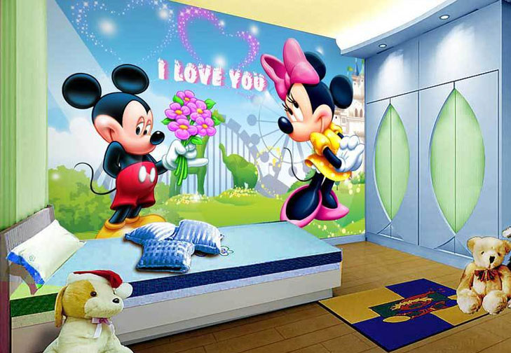 Mickey Wallpapers For Kids Room @TheRoyaleIndia