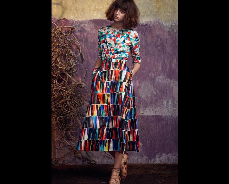 mixed print fashion @TheRoyaleIndia