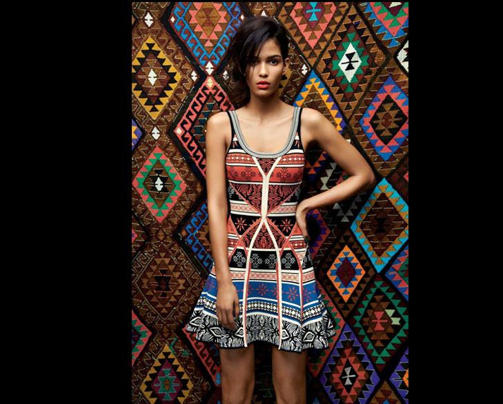 navajo print dress @TheRoyaleIndia