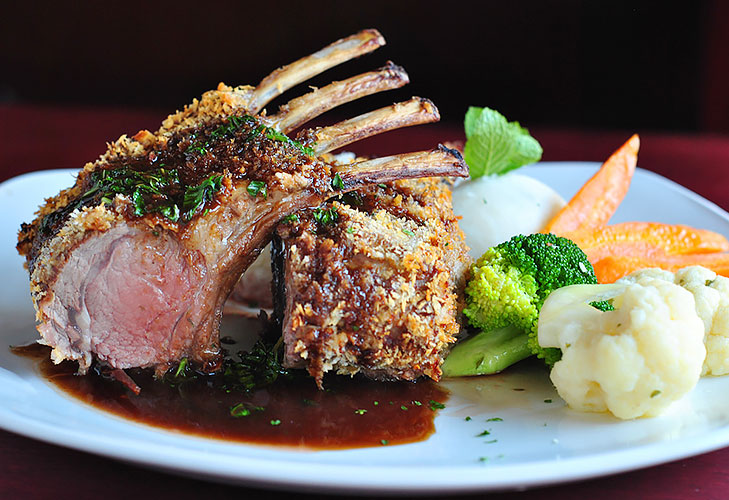 new zealand lamb rack @TheRoyaleIndia