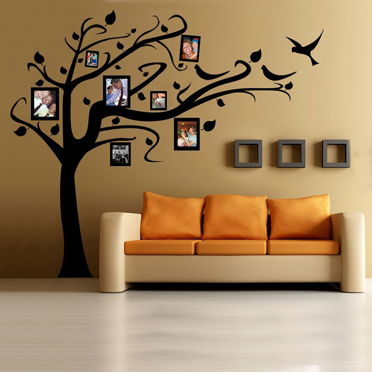 photo wall decals @TheRoyaleIndia