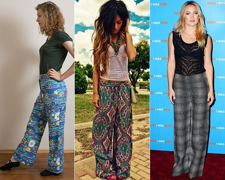 psychedelic print pants @TheRoyaleIndia