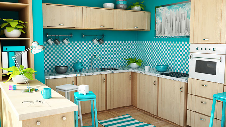 Wallpapers For Kitchen @TheRoyaleIndia