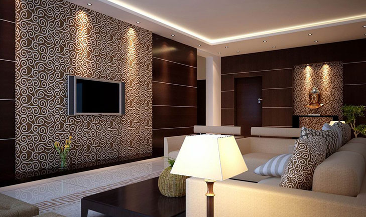 Wallpaper Design For Living Room Wall Art 4 Home Ideas 4 Tips For ...