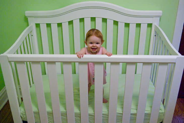 babyproofing cribs fixed rails @TheRoyaleIndia