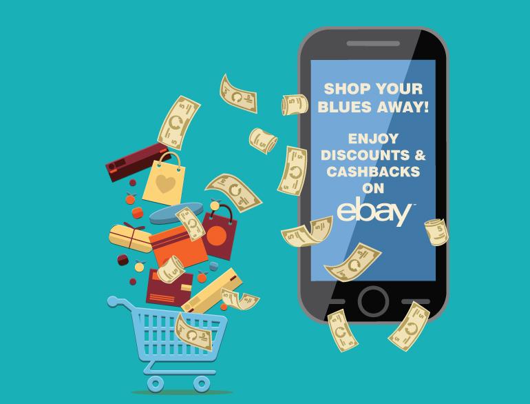 cashbacks on ebay @TheRoyaleIndia